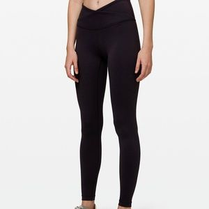 Lululemon Always On High Rise Tight Leggings Black
